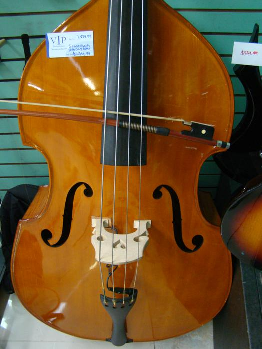 schoenbach 3 4 stand up bass with bow and pickup for sale lowered central nanaimo nanaimo. Black Bedroom Furniture Sets. Home Design Ideas