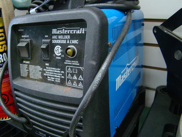 mastercraft mig and flux welder manual