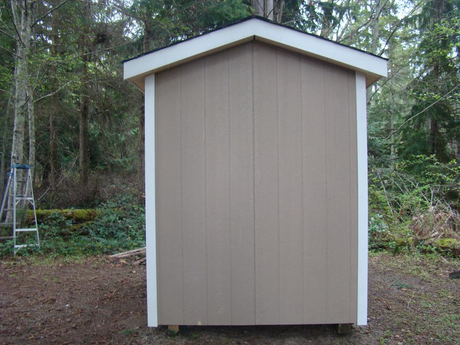 6 39 x8 39 pre fab garden shed 1 day installation by ksheds parksville nanaimo - Garden sheds edmonton ...