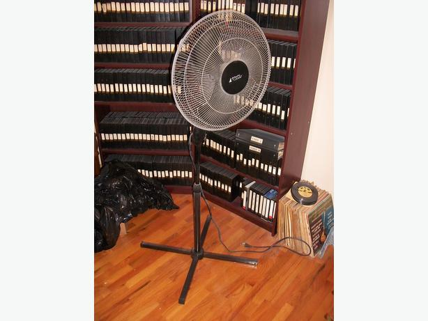 Atlantic Breeze Pedestal Fan : Inch alantic breeze oscillating pedestal fan west shore