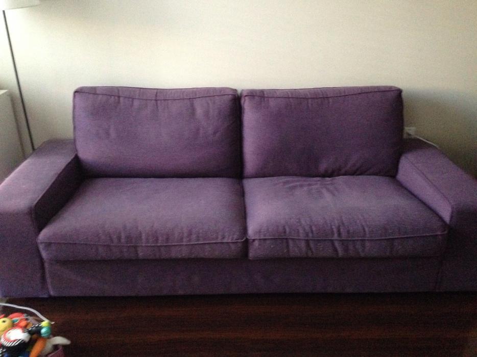Kivik Purple Ikea Sofa Saanich Victoria