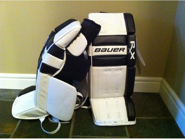 Pictures of Bauer Rx Goalie Pads - #rock-cafe