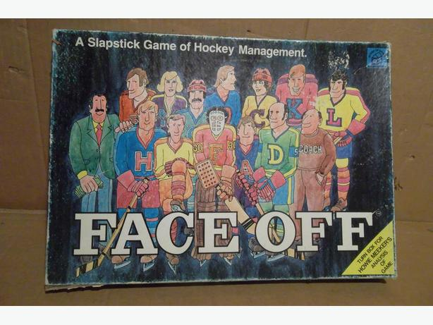 "1974 ""Faceoff"" board game"