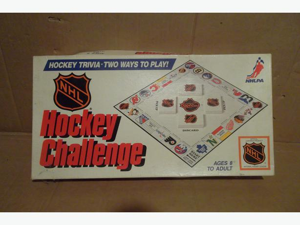 "1986 ""Hockey Challenge"" board game"