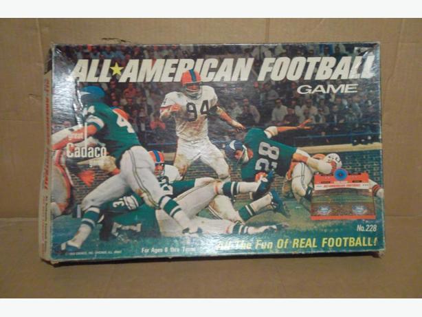 "1965 Cadaco ""All-American Football Game"""