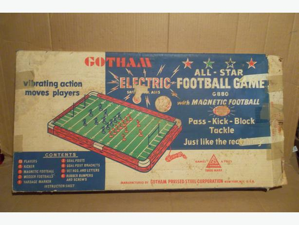 "Gotham ""All-Star Electric Football Game"""