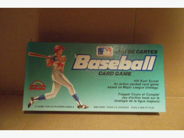"""Baseball"" card game"