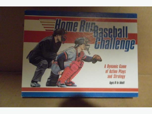 """Home Run Baseball Challenge"" game"