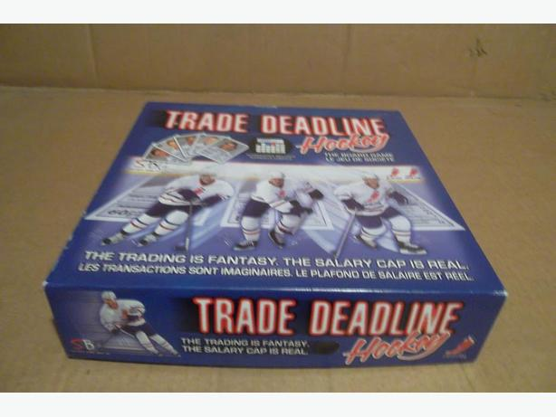 """Trade Deadline Hockey"" game"
