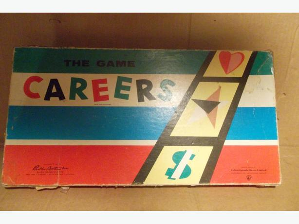 "1955 ""Careers"" board game"