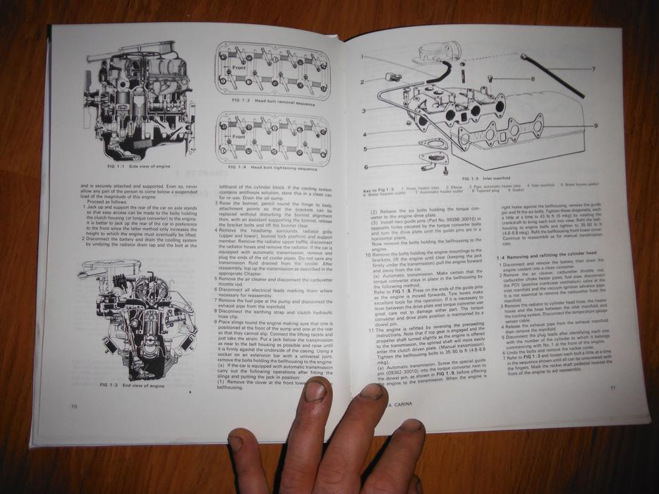 Toyota Celica St Gt 1588cc 2t B 1971 74 Shop Manual