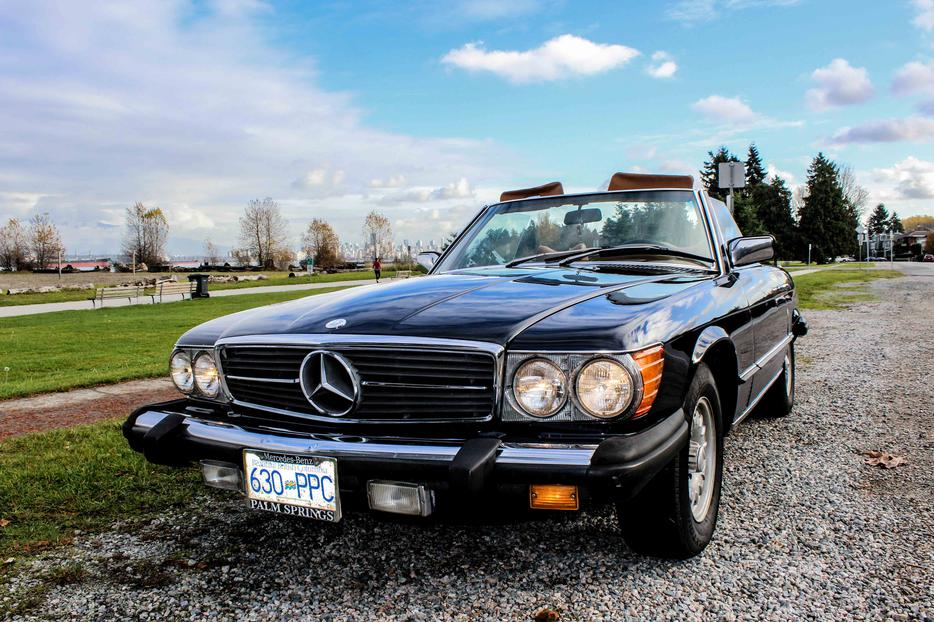 Classic 1978 mercedes 450sl convertible vancouver for Mercedes benz north vancouver