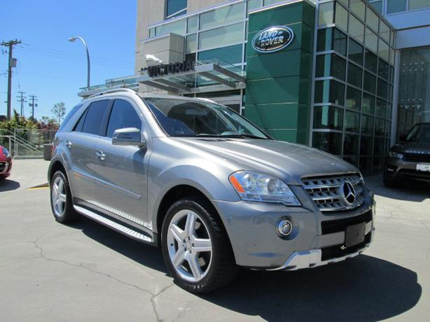 2011 mercedes benz ml550 4matic 4x4 victoria city victoria. Black Bedroom Furniture Sets. Home Design Ideas