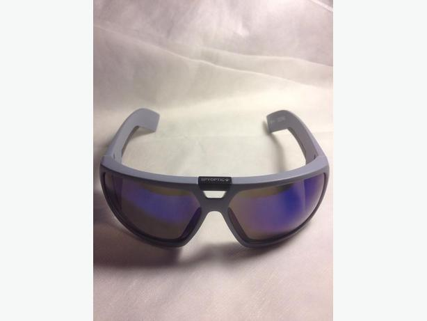 New Spy Optic Touring 2 Grey Outdoor Retro Sport Sunglasses