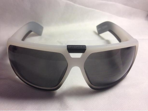 New Spy Optic Touring 5 Smoke White Outdoor Retro Sport Sunglasses