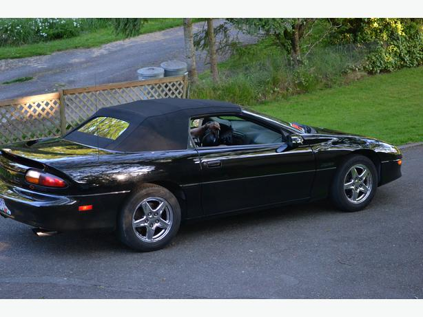 1997 chevrolet z28 camaro convertible anniversary edition. Black Bedroom Furniture Sets. Home Design Ideas