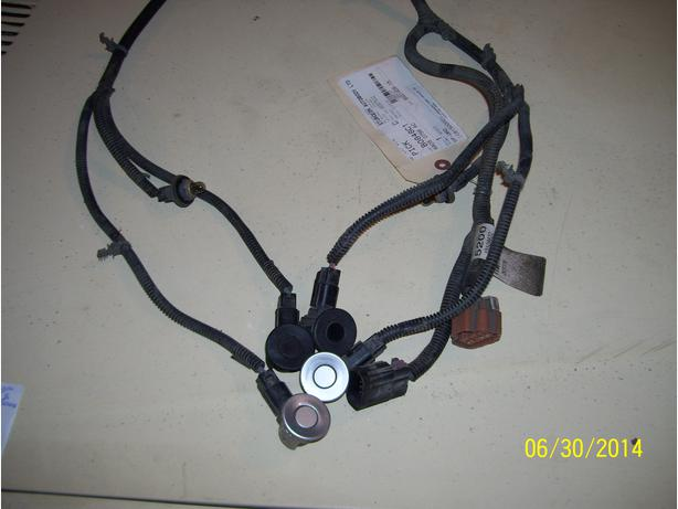 2010 Chevrolet rear bumper sensors and harness