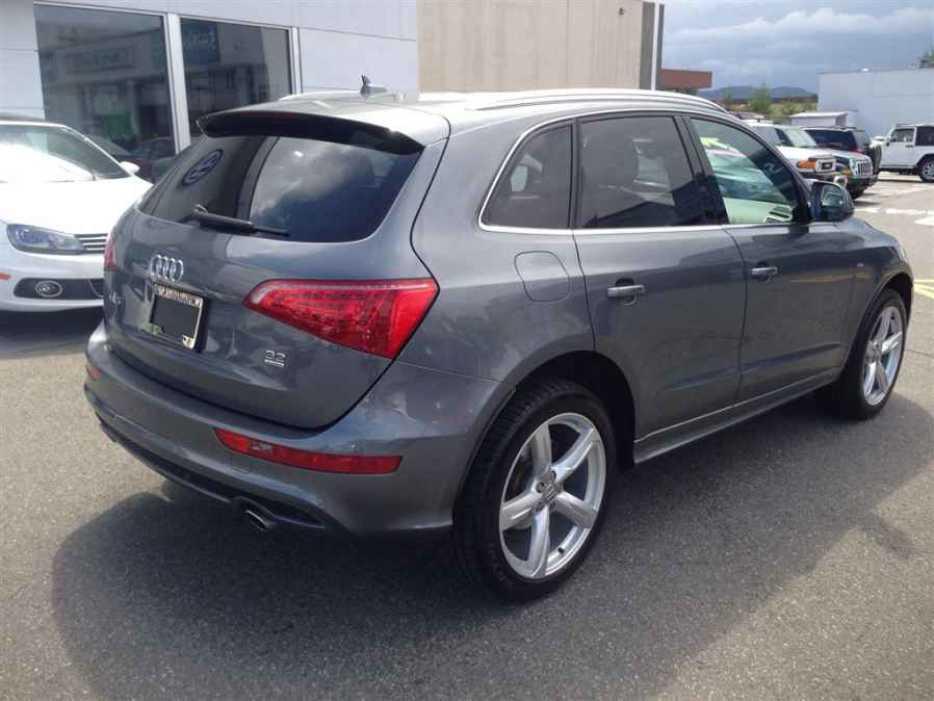 2012 Audi Q5 Outside Victoria Victoria
