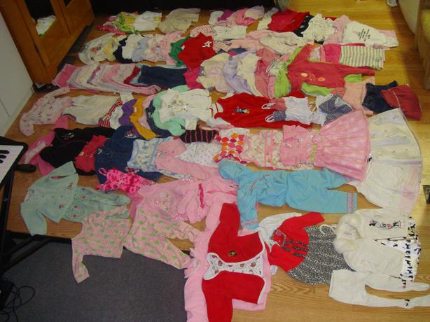 Complete Lot of 109 Pieces Clothing Size 12-18 Months $140 for all!
