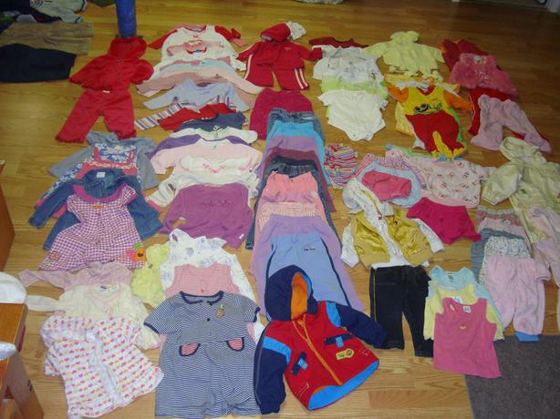 Complete Lot of 92 Piece Clothing Size 18-24 Months $120 for all!
