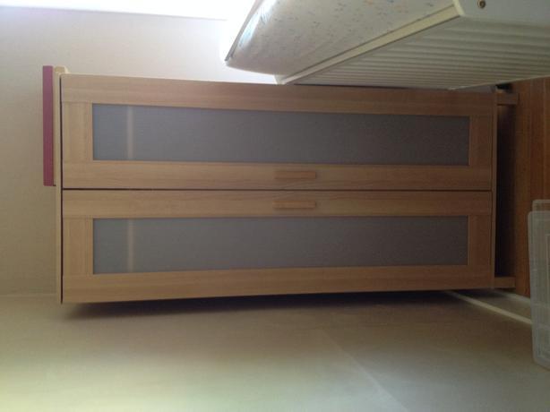 ikea aneboda wardrobe armoire birch colour victoria city. Black Bedroom Furniture Sets. Home Design Ideas