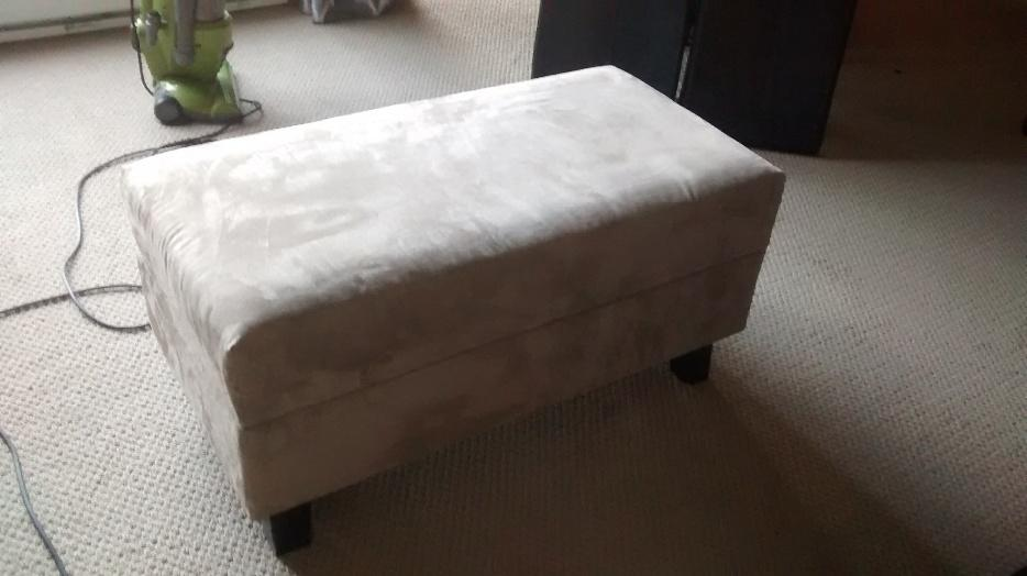 Microfiber Ottoman Coffee Table Victoria City Victoria