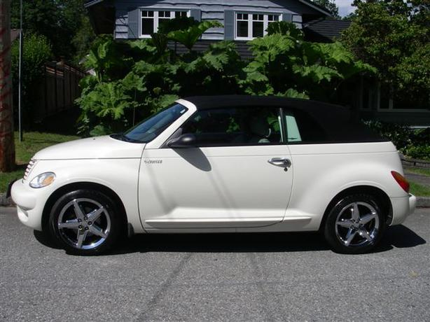 2005 chrystler pt cruiser convertible turbo gt coquitlam. Black Bedroom Furniture Sets. Home Design Ideas