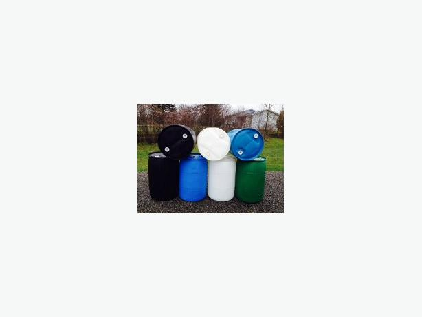 Plastic drum, drums, barrels, rain barrel,