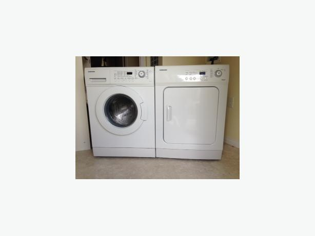 Samsung apartment size washer dryer parksville parksville qualicum beach - Apartment size stackable washer and dryer ...