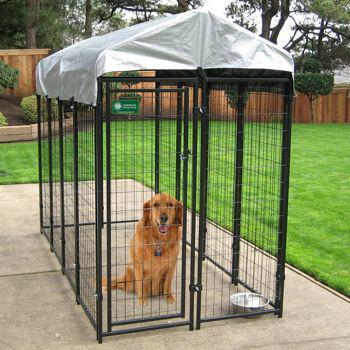 Akc 4 ft x 8 ft uptown kennel north regina regina for Costco dog fence