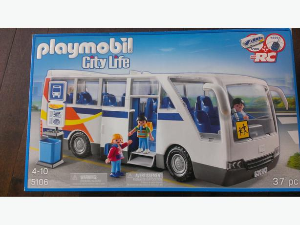 playmobil city life coach bus west shore langford colwood. Black Bedroom Furniture Sets. Home Design Ideas