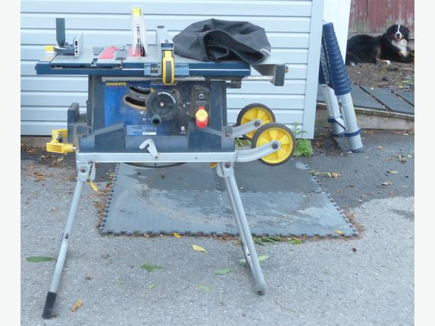 Mastercraft portable table saw central ottawa inside for Table 85 ottawa