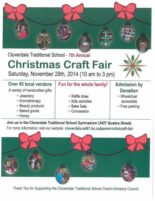 Creston Christmas Craft Fair