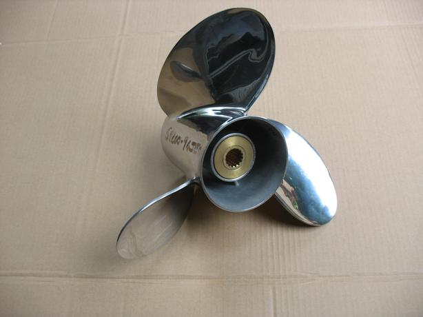 Stainless Steel Prop : Brand new suzuki stainless steel prop nanoose bay
