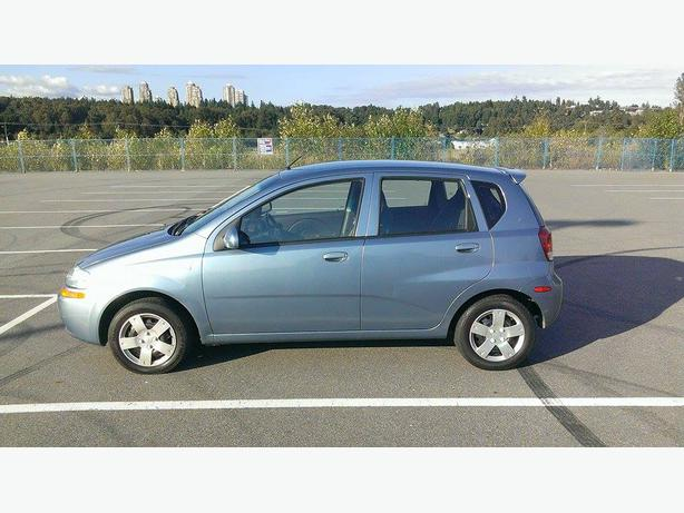 2006 chevrolet aveo 5 ls outside okanagan okanagan mobile. Black Bedroom Furniture Sets. Home Design Ideas
