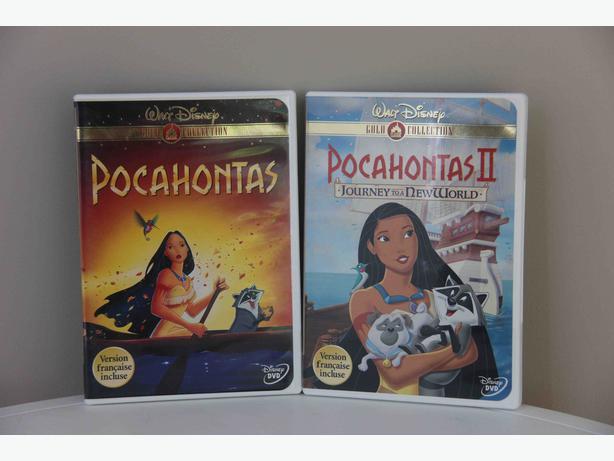 Pocahontas DVDs