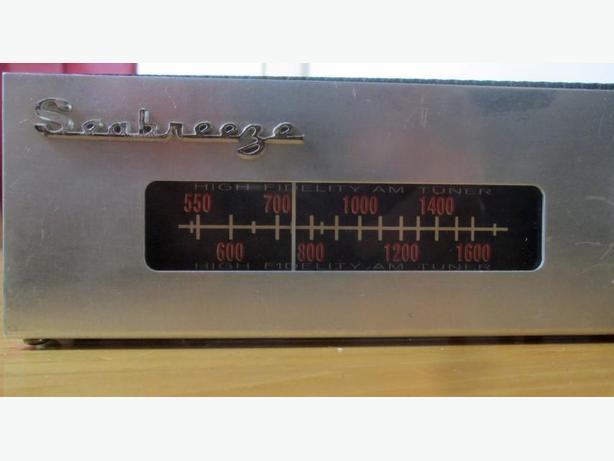 Vintage Tube AM Tuner ~ Seabreeze
