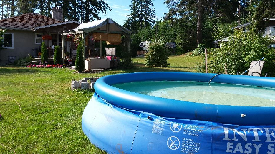 Intex Pool 10 000 L Courtenay Courtenay Comox