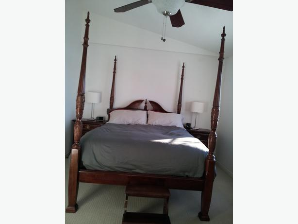 4 poster rice bed bedroom set for sale nepean ottawa - Four poster bedroom sets for sale ...