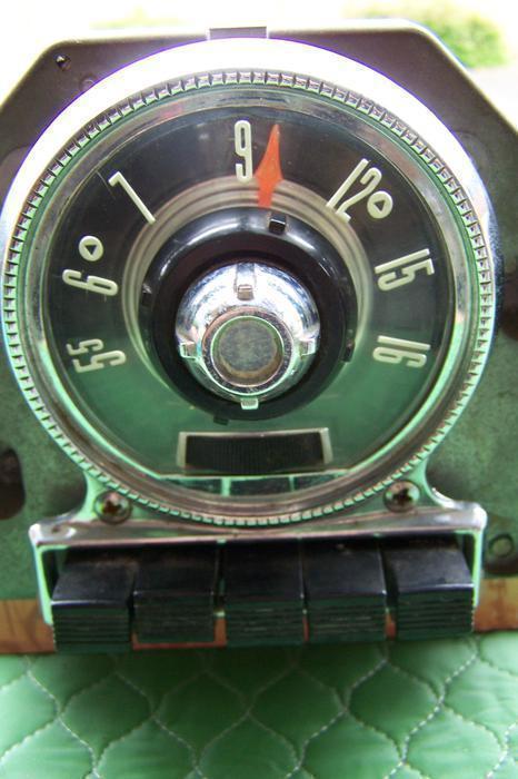 1955 Ford Fairlane Vintage 6 Volt Radio Saanich Victoria