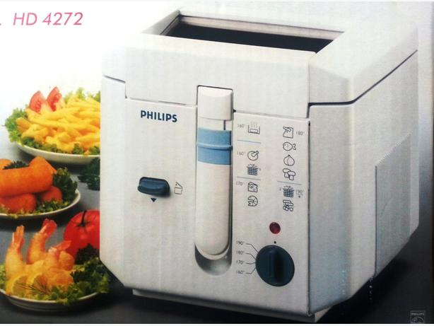 philips compact friteuse hd 4272 fra che mur 1 6l 1250w 1440w 39 39 sold 39 39 central ottawa inside