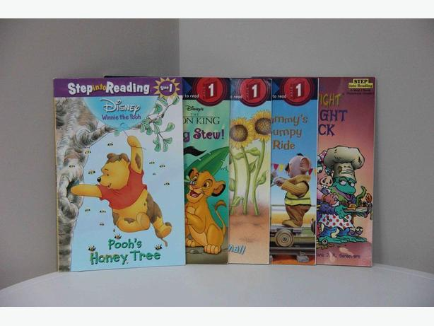 Step into Reading: Step 1 (Ready to Read) - Set of 5
