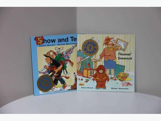 Robert Munsch Books - Set of 2