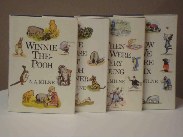"The ""Classic"" Winnie-The-Pooh Collection - Box set of 4 Hardcovers"