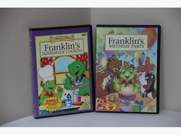 FREE - Franklin DVDs - Set of 2