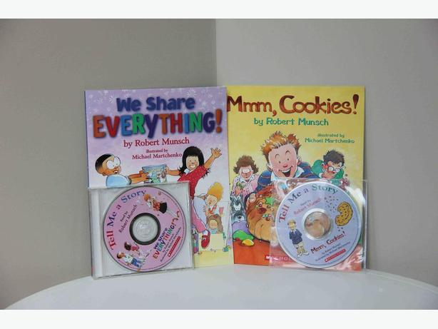 Robert Munsch Books & CDs - Set of 2