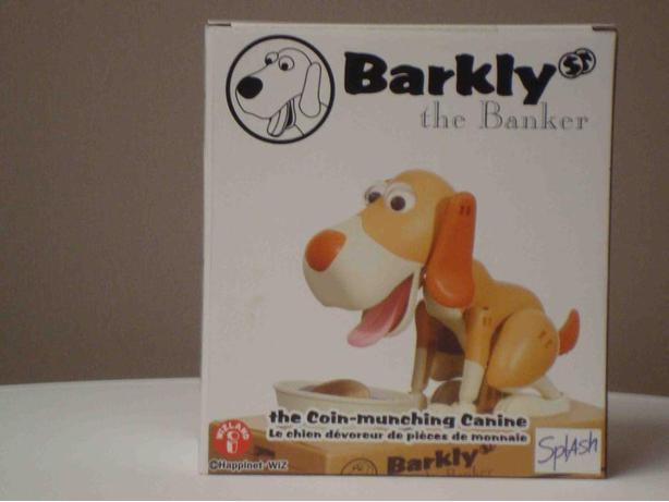Barkly the Coin-Munching Canine