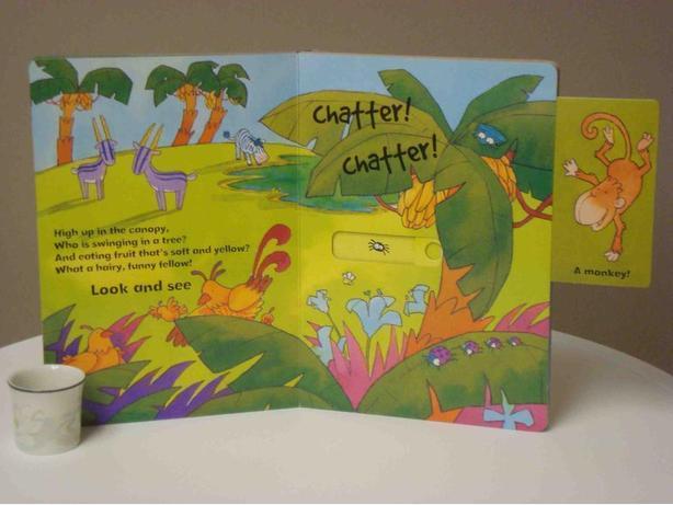 Slide & Find - In the Jungle (Hardcover)