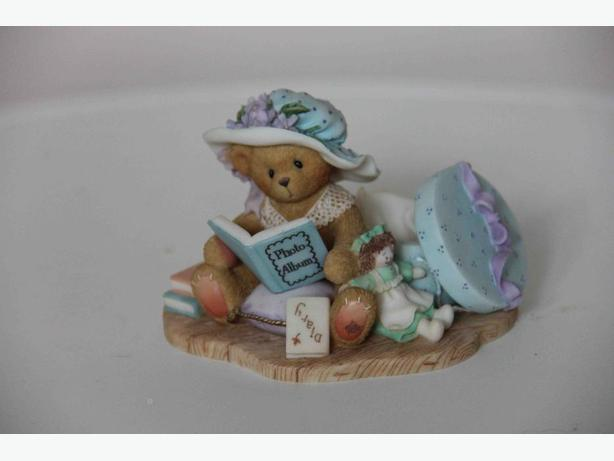 "Cherished Teddies ""Lauren"" Figurine"