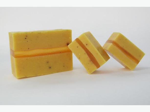 Soap - Handmade & All natural - Citrus Splash guest size bar
